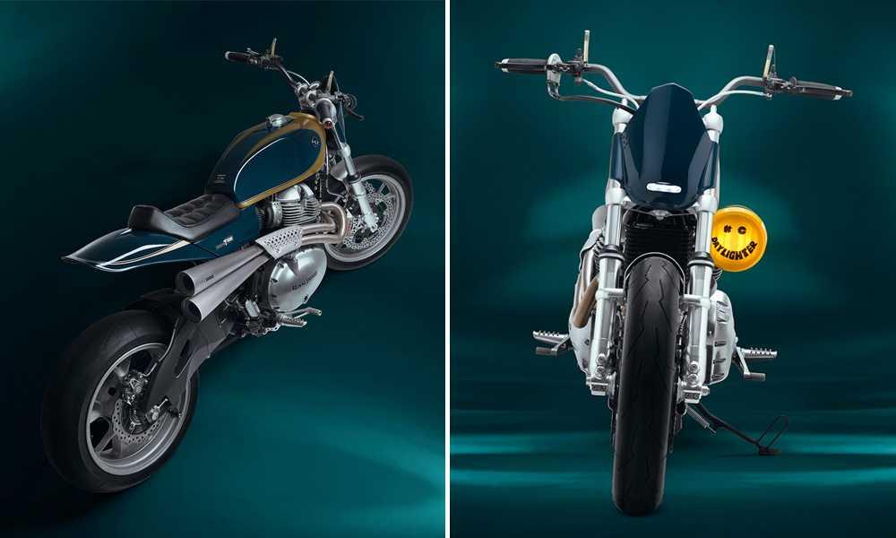 """Royal Enfield customizadas por el taller """"Thive Motorcycles"""", el modelo es una Interceptor 650."""